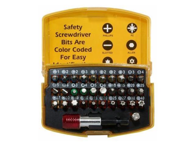 Buffalo Tools PS07562 Pro Series 32 Piece Security Sd Bit Set