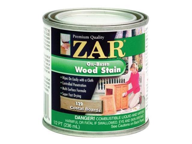 United Gilsonite Half Pint Coastal Boards Zar Oil Based Wood Stain  13906