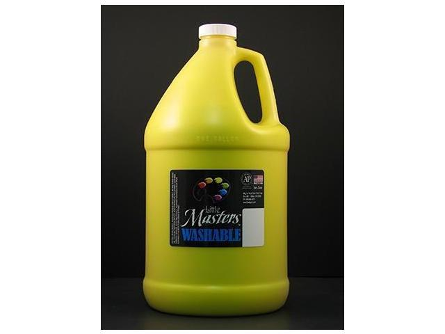 Rock Paint- Handy Art RPC214710 Little Masters Yellow 128Oz Washable Paint