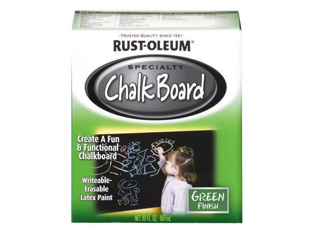 Rustoleum 1 Quart Black Chalk Board Paint  206540