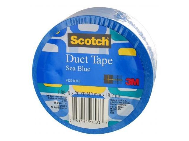 3m 20 Yards Sea Blue Duct Tape  920-BLU-C
