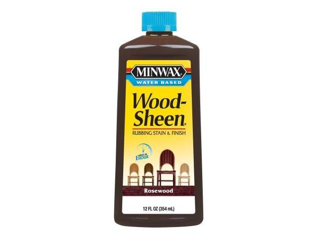 Minwax 12 Oz Rosewood Water Based WoodSheen Wood Stain  30451