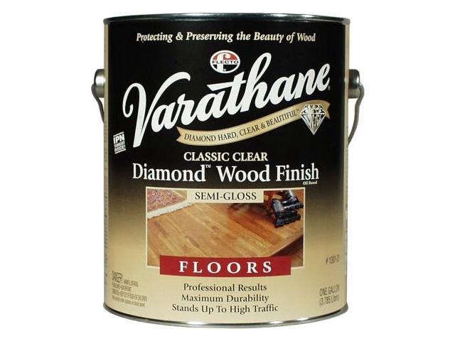 Rustoleum Classic Clear Diamond Wood Finish For Floors Semi-Gloss 130131 - Pack of 2