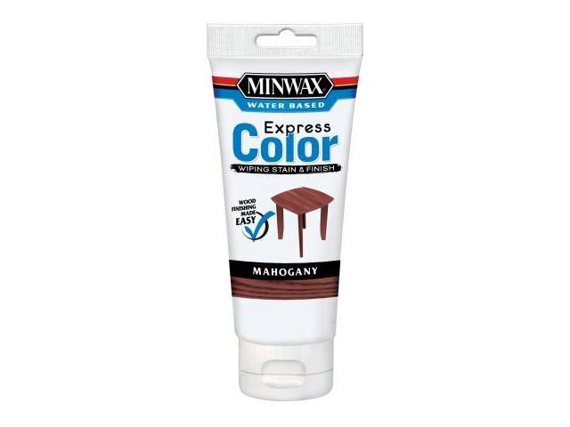 Minwax Mahogany Water Based Express Color Wiping Stain & Finish 30804