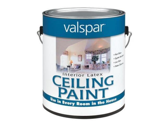 Valspar Brand 1 Gallon Interior Latex Ceiling White Paint 27 1426 Gl Pack Of 4