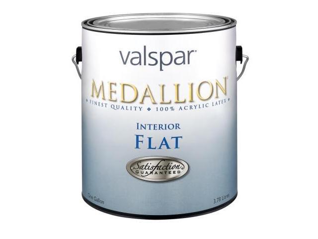Valspar Brand 1 Gallon White Medallion Interior 100 Percent Acrylic Flat Wall Paint 27 Pack