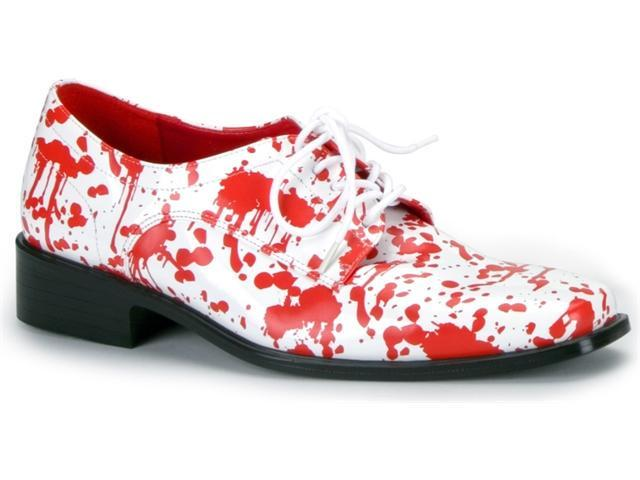 Pleaser Shoes 195916 Blood Splatter Shoes Adult White