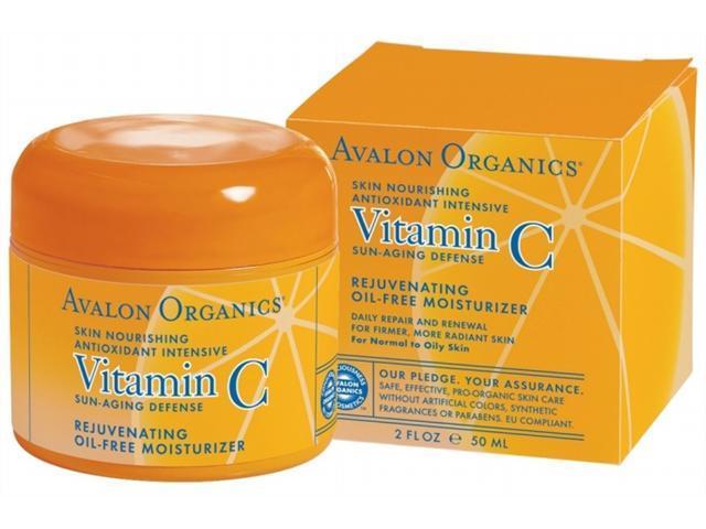 Intense Defense with Vitamin C Oil-Free Moisturizer - Avalon Organics - 2 oz - Cream