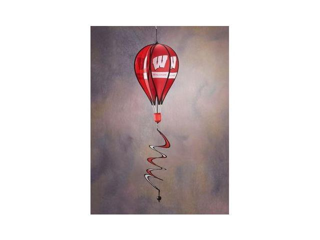 Bsi Products 69020 Hot Air Balloon Spinner - Wisconsin Badgers