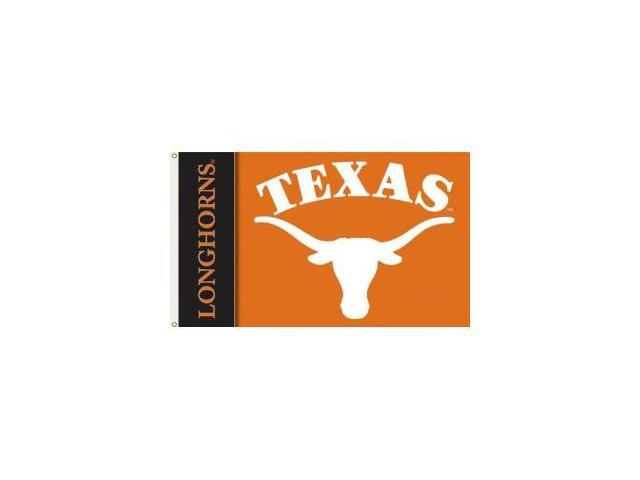 Bsi Products 92034 2-Sided 3 Ft. X 5 Ft. Flag W/Grommets - Texas Longhorns