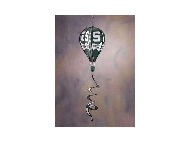 Bsi Products 69029 Hot Air Balloon Spinner - Michigan State Spartans