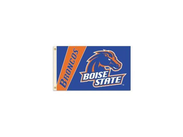Bsi Products 92080 2-Sided 3 Ft. X 5 Ft. Flag W/Grommets - Boise State Broncos