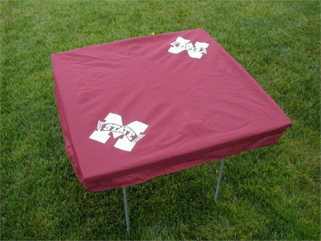 Rivalry RV276-4000 Mississippi State Card Table Cover