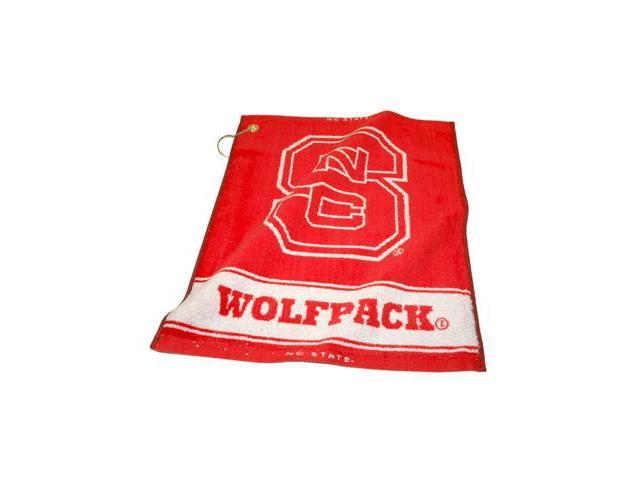 Team Golf 22680 North Carolina State University Woven Golf Towel