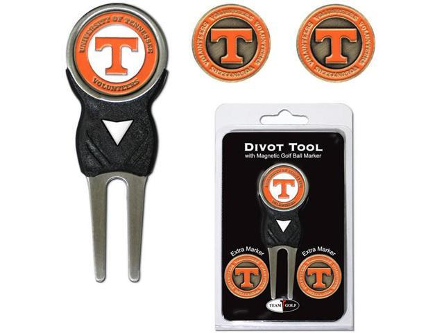 Team Golf 23245 Tennessee Volunteers Divot Tool Pack with Signature tool