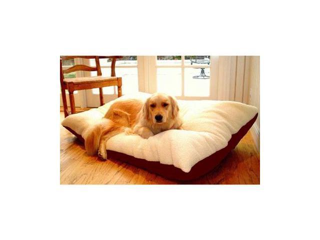 Majestic Pet 788995651642 42x60 Extra Large Rectangle Pet Bed- Burgundy