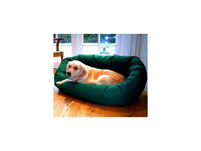 Majestic Pet 788995611233 24 in. Small Bagel Bed- Green