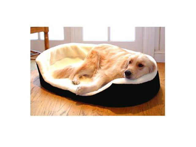 Majestic Pet 788995621805 23x18 Small Lounger Pet Bed- Black