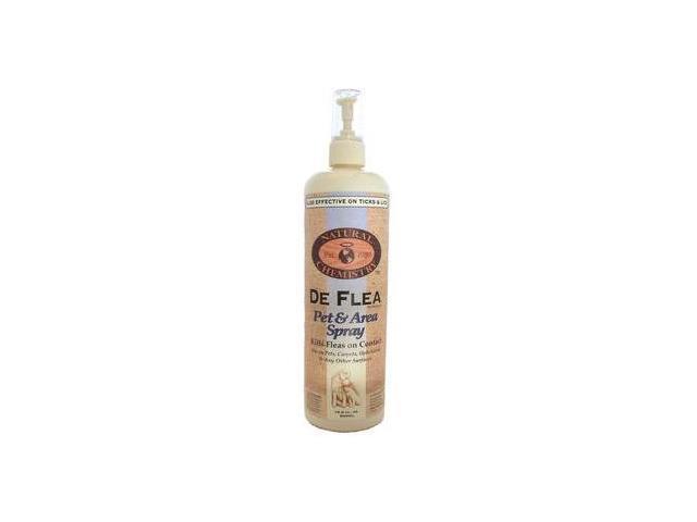 Natural Chemistry De Flea Pet & Bedding Spray, 16.9 Ounce - 11014