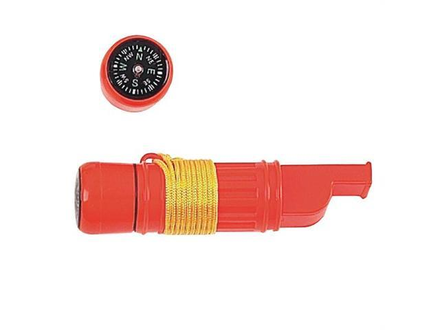 Mustang FP13813 Emergency Whistle with Mirror & Compass- Waterproof