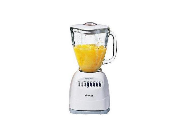 Oster 6647 WHT 10 Speed Glass Jar Blender