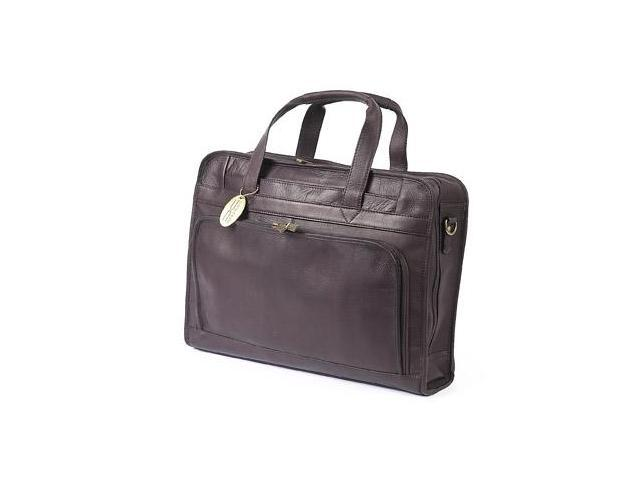 Claire Chase 168E-cafe Professional Computer Briefcase - Cafe
