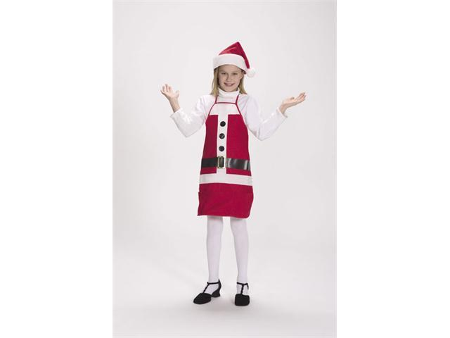 Halco 7060-C Holiday Apron & Hat- Size Child 4-12