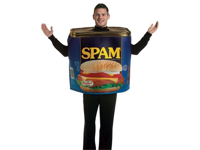 Adult SPAM Costume Rasta Imposta 7141