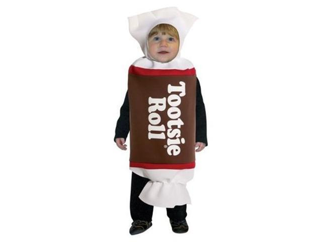 Tootsie Roll Tunic Costume Child 18-24 Months