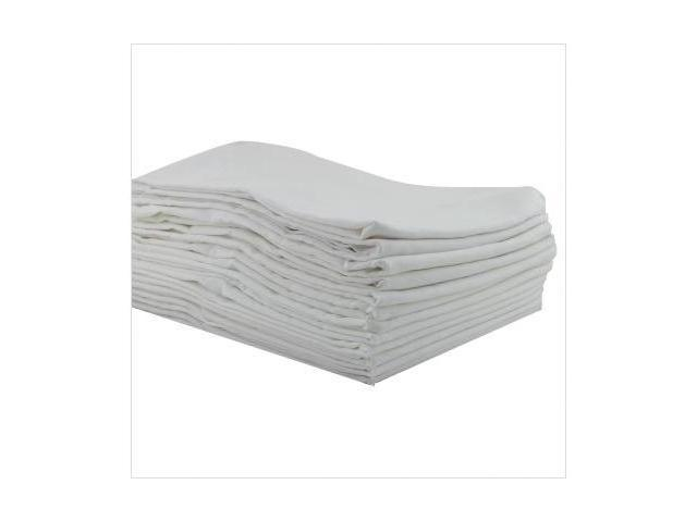 Early Childhood Resources ELR-0235 12-Pack Kiddie Toddler Kot Sheets - White