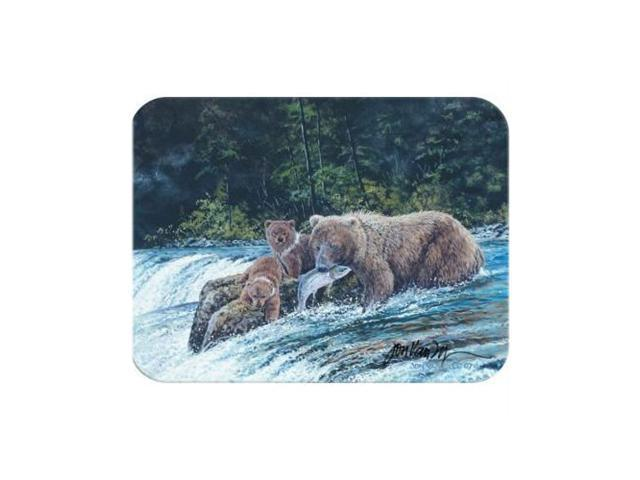 McGowan TT70011 Tuftop Vanzyle-Grizzly Fishing Cutting Board- Small