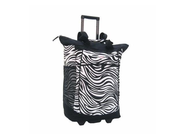 Luggage America RS-400-ZB Sports Plus Rolling Shopper Tote