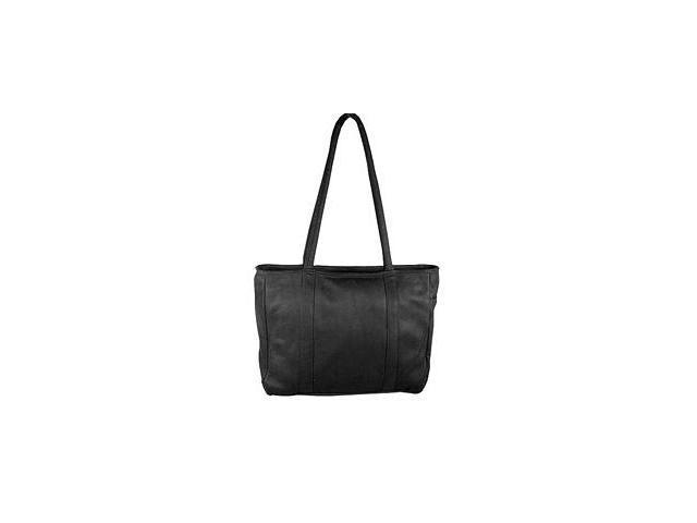 David King & Co 574B Multi Pocket Shopping Tote- Black