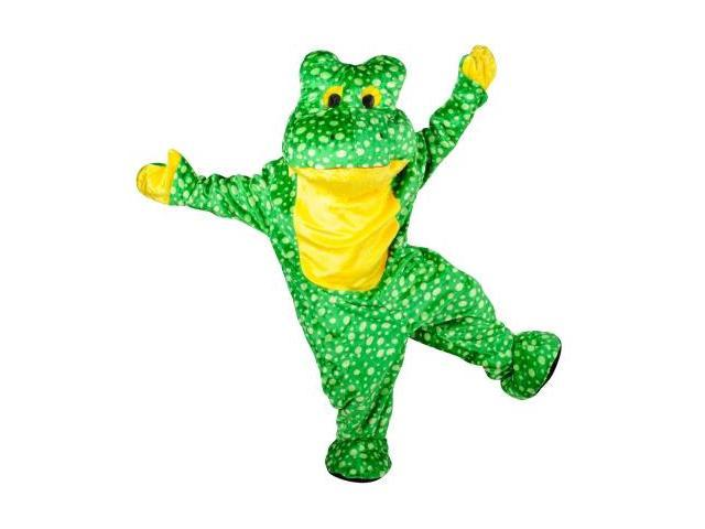 Forum Novelties 181214 Deluxe Plush Frog Mascot Adult Costume Size: One Size