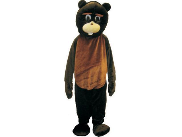 Dress Up America 473-XL Adult Beaver Mascot Costume - Extra Large