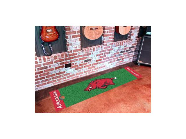 Fanmats 9065 University Of Arkansas Golf Putting Green Mat