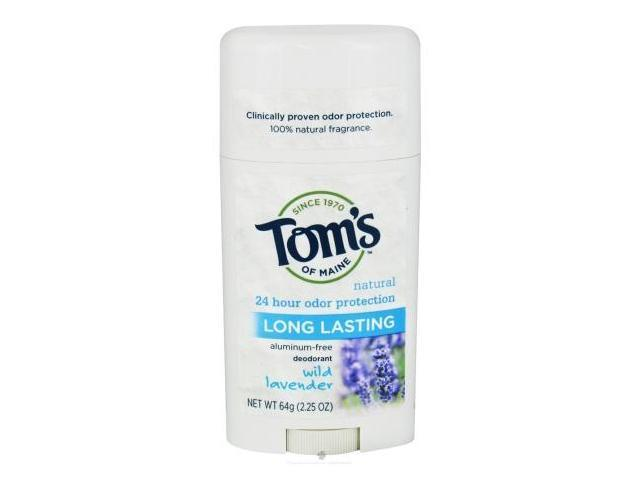 Tom's of Maine Natural Long-Lasting Deodorant Stick 64g/2.25oz (Lavender)