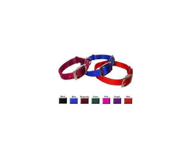 Majestic Pet 788995411246 8-12 in. Adjustable Safety Cat Collar Burgundy