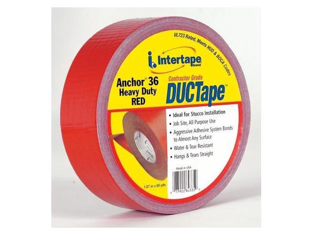 Intertape Anchor 36 Heavy Duty DUCTape  4335 RED