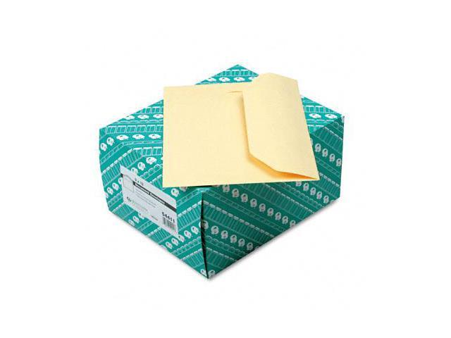 Quality Park 54411 Open Side Booklet Envelope  Traditional  12 x 9  Cameo Buff  100/box