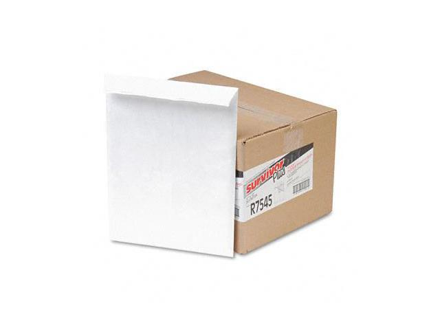 "Tyvek Bubble Mailer, Lightweight, 10""x13"", 25/BX, White QUAR7545"