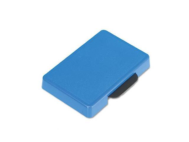 US Stamp P5460BL Trodat T5460 Dater Replacement Ink Pad  1-3/8w x 2-3/8d  Blue
