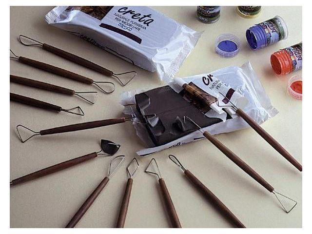 Alvin 99AL-8 Modeling Clay Tool Set 8pc