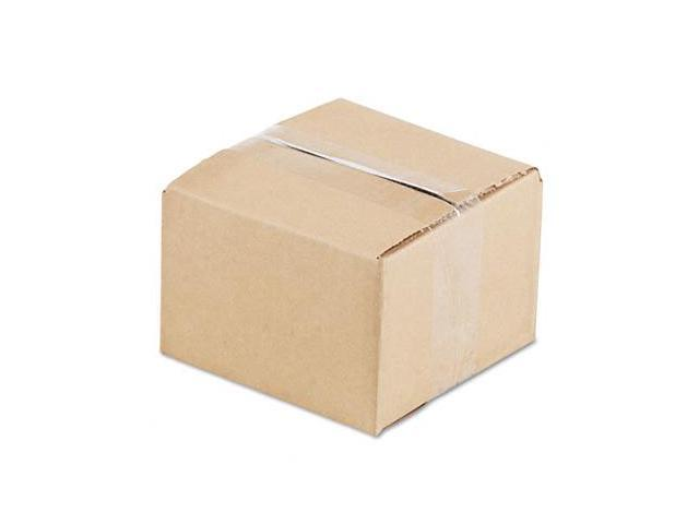Universal 179532 Corrugated Kraft Shipping Carton  6w x 6l x 4h  Brown