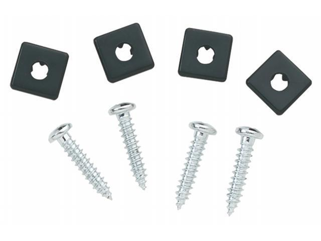 Bell Automotive - Victor 4 Pack Chrome License Fasteners  00458-8