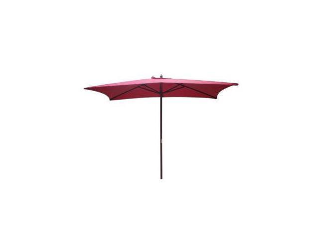 International Concepts 53559 Rectangular Market Umbrella