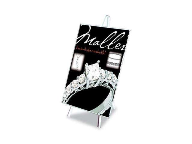 Deflect-O 690101 Superior Image Easel Back Sign Holders , 8 1/2 x 11, Clear