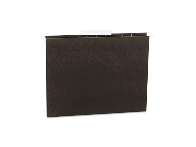 Universal 14113 Hanging File Folders- 1/3 Tab- 11 Point Stock- Letter- Standard Green- 25/Box