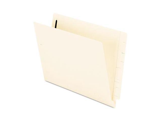 Tops Pendaflex H10U13 Expansion Folders with 2Fasteners  Straight Cut  End Tab  Ltr  Manila  50/Bx