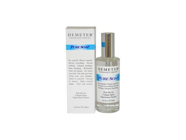 Pure Soap by Demeter for Women - 4 oz Cologne Spray